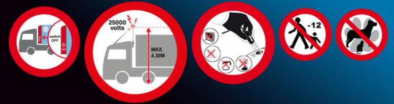 Eurotunnel - Instrucțiuni de Siguranță pentru Șoferi