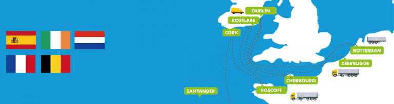 Mainland Europe to Ireland