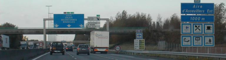Autostrada A1 din Franța