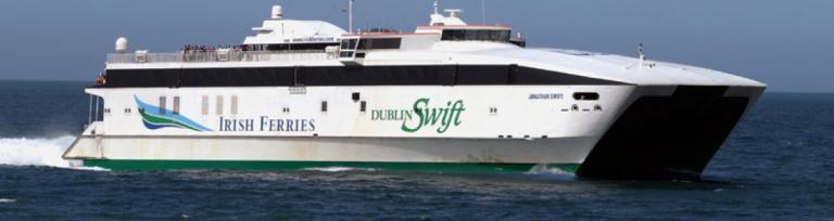 Irish Sea Irish Ferries Dublin Swift