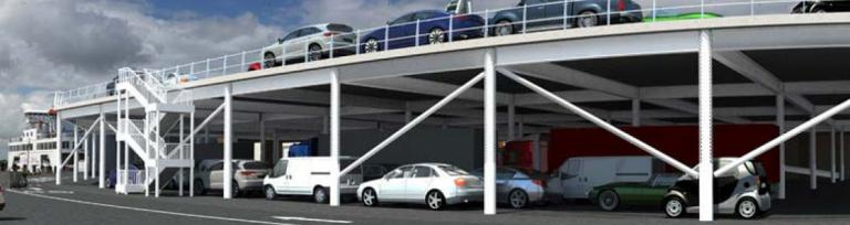 Wightlink new double loading deck