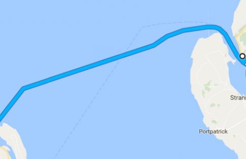 Cairnryan - Larne route