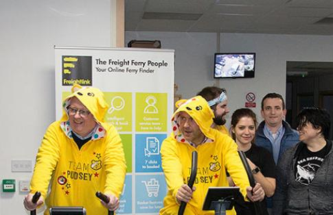 Freightlink Preston to Dover Cycle Challenge Children in Need
